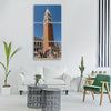 venice st mark s square historically Vertical Canvas Wall Art