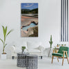 yellowstone national park hot spring Vertical Canvas Wall Art