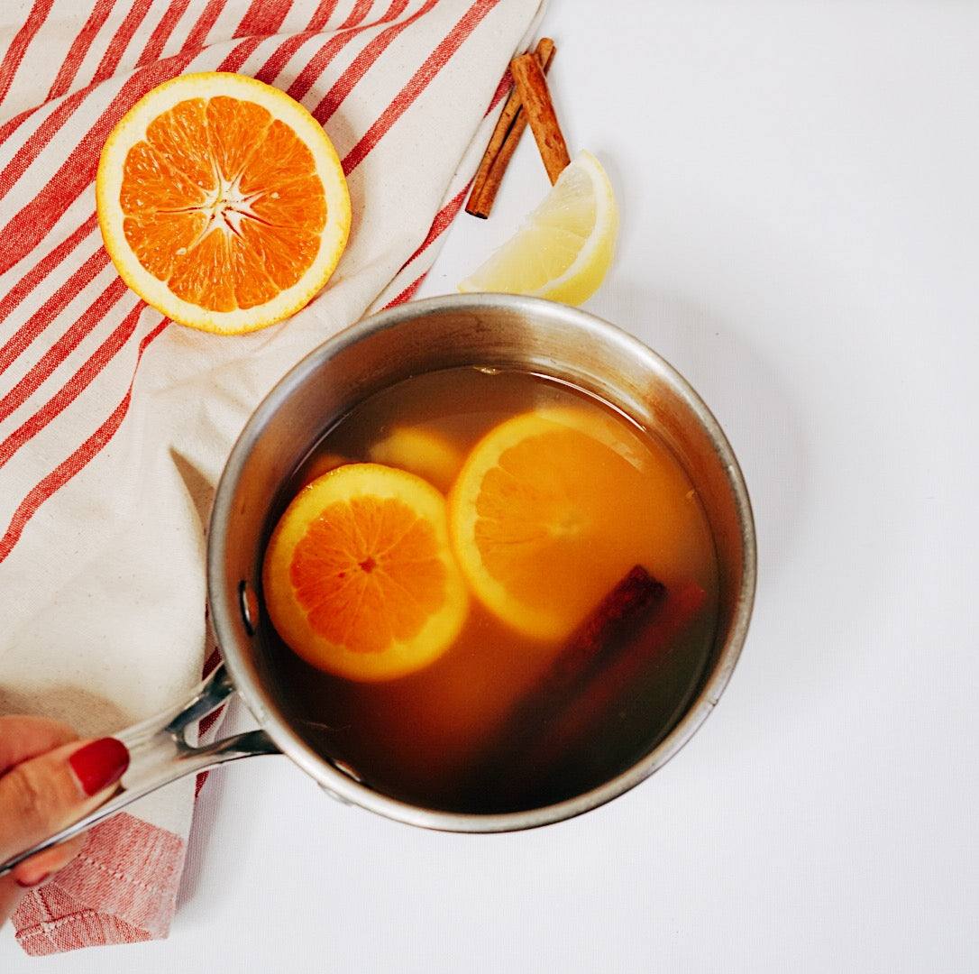 hot toddy with organic coconut nectar