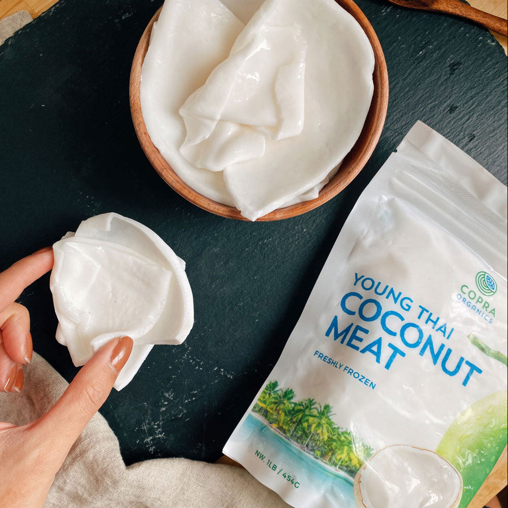 How to find fresh coconut meat
