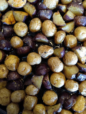Tuscan Herb Oven Roasted Potatoes