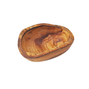 Olive Wood Rustic Dipping Bowl