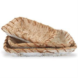 Birch Basket, Set of Three