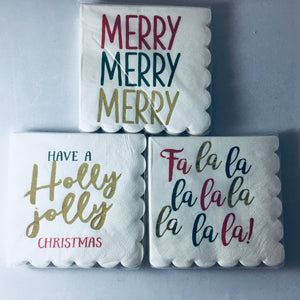 Holiday Paper Napkins