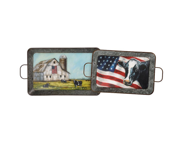 Farm & Flag Trays