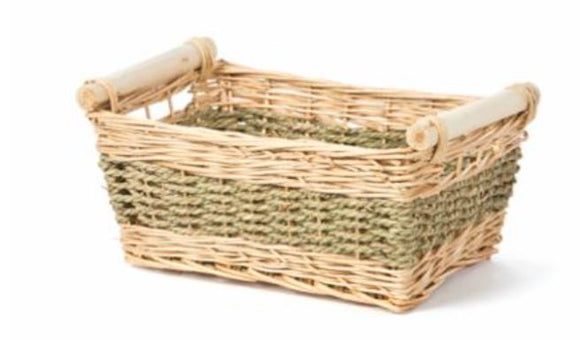 Rectangular Willow/Seagrass Bin