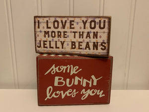 Easter Box Signs