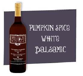 Pumpkin Spice White Balsamic
