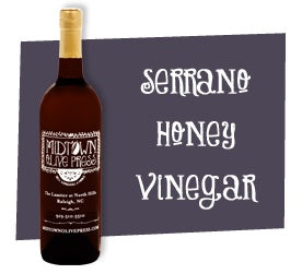 Serrano Honey Vinegar