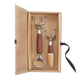 Oh Deer Boxed Bar Set