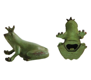 Pewter Frog Bottle Opener