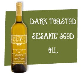 Dark Toasted Sesame Seed Oil