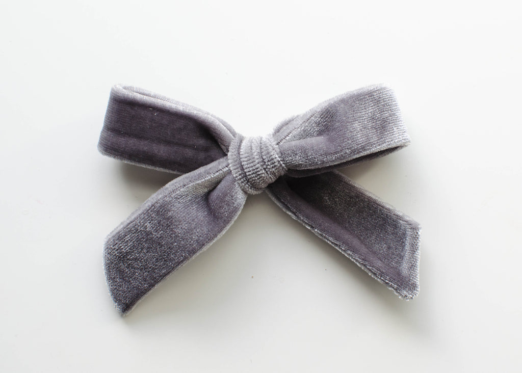 Cloud Velvet | Evie Bow