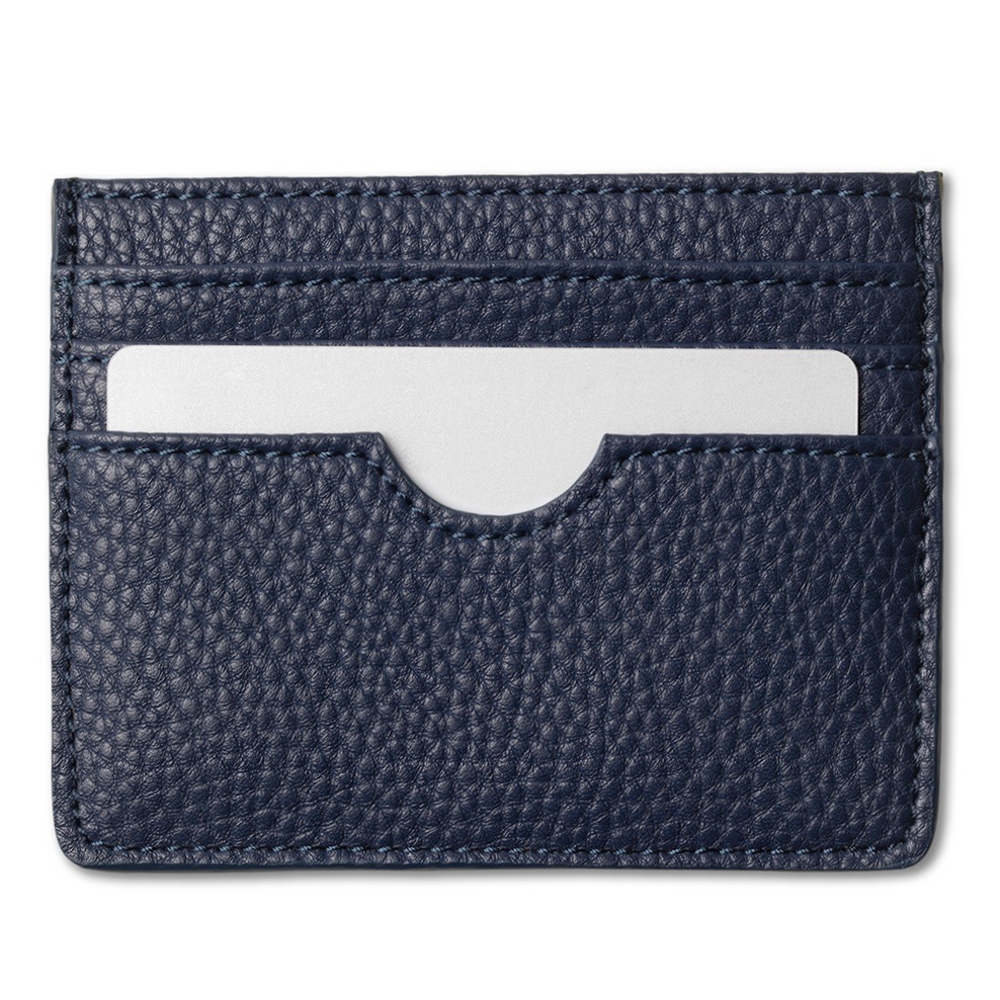 Card holder, midnight blue