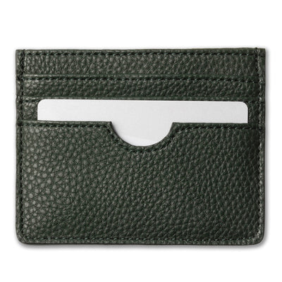 Card holder, forest green