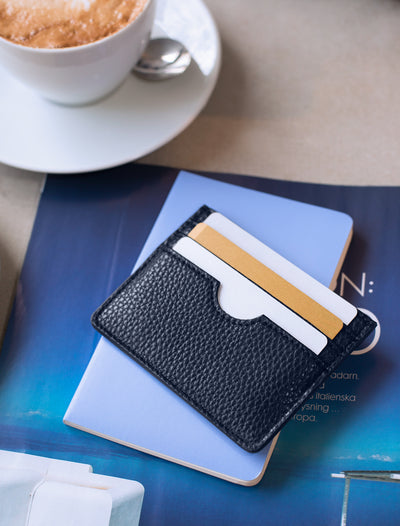 Card holder dark blue
