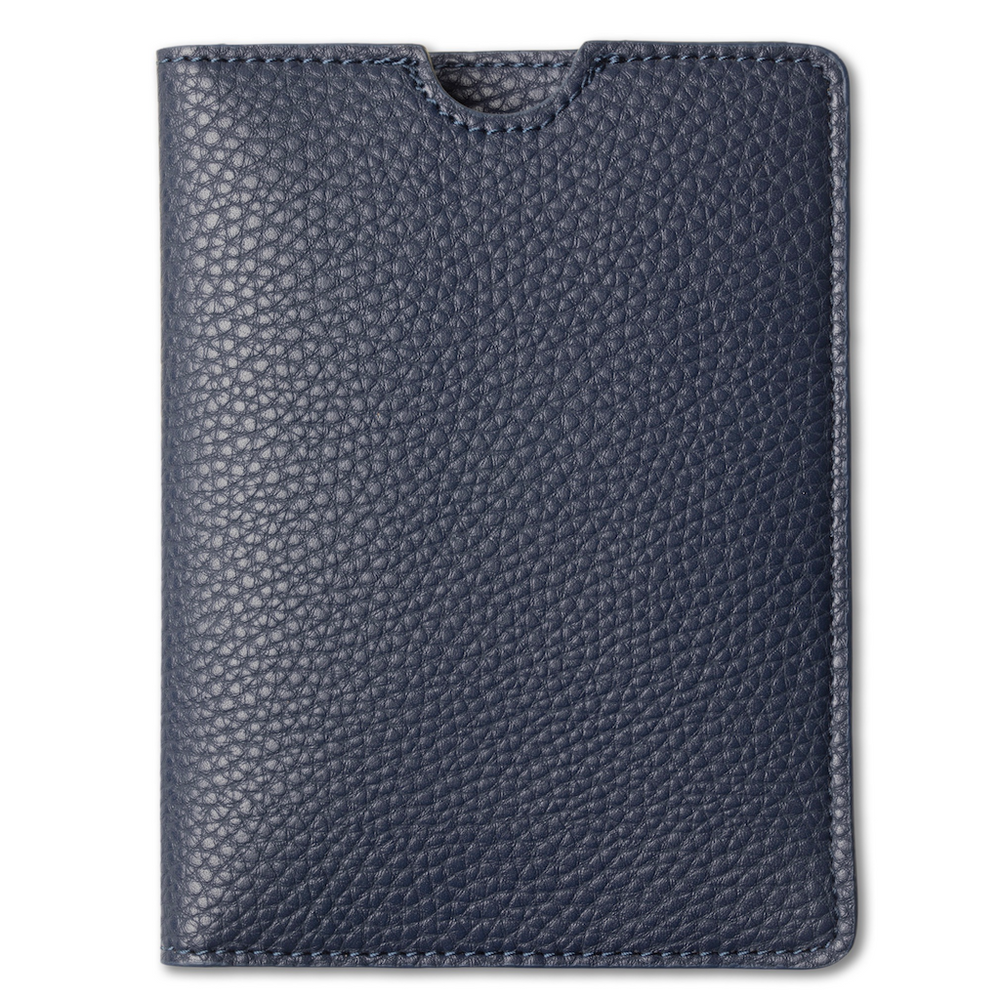 Passport holder, midnight blue