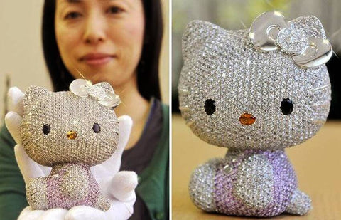 most expensive hello kitty item in the world