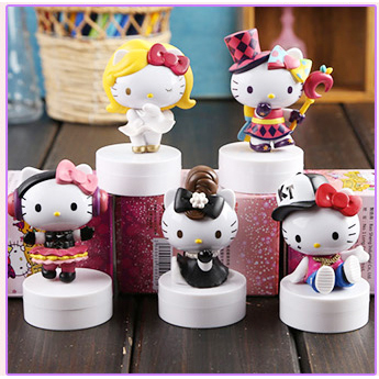 40th Anniversary Hello Kitty Collectible Figure Set/ Cake Decoration-toy-UAE Cute Stuff