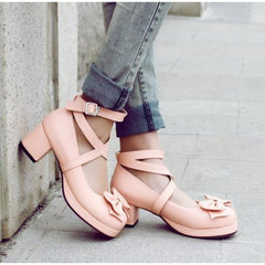 Ankle Wrap Lolita Cute Shoe-shoe-UAE Cute Stuff