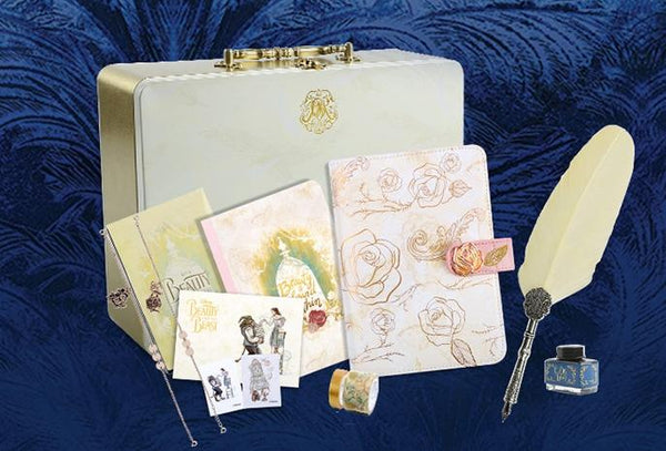 Beauty& the Beast Stationery Gift Set
