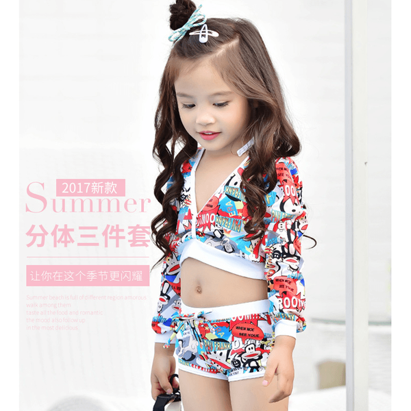 Bikini/ Bathing Suit Swim Outfit for girls 3-10 years old-kid clothing-UAE Cute Stuff