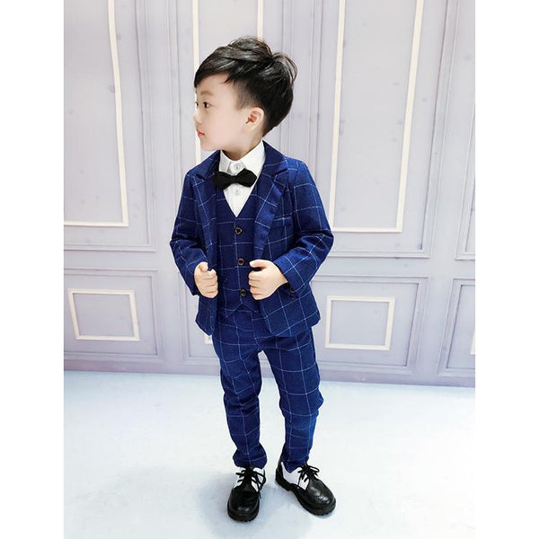Blue Suit for Boy-kid clothing-UAE Cute Stuff