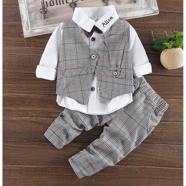 Casual Style Suit for Boy-kid clothing-UAE Cute Stuff