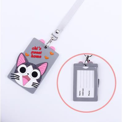 Chi Cat Kawaii ID Lanyard-lanyard-UAE Cute Stuff