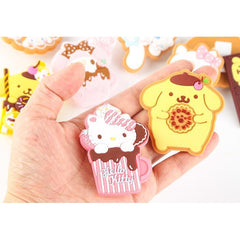 Chocolate series small clip~ 8 Selections Inside-clip-UAE Cute Stuff