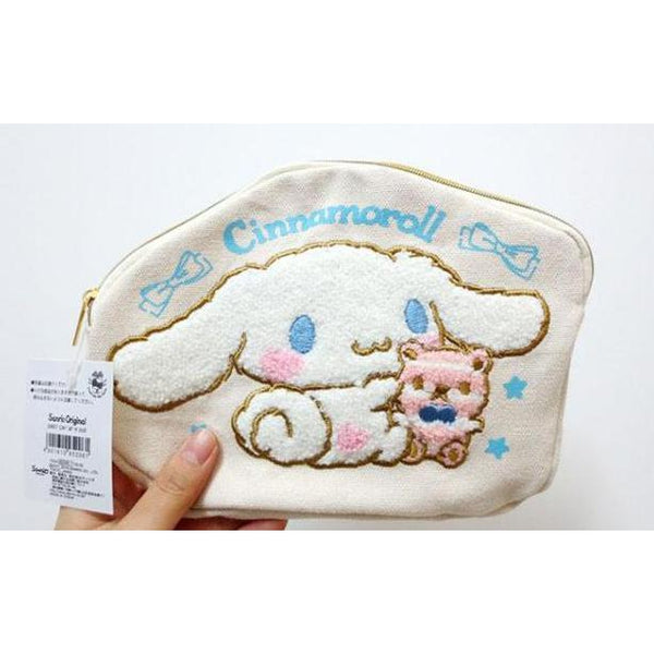 Cinnamoroll Cute Pencil Bag/ Make up Bag-pencil case-UAE Cute Stuff