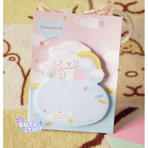Cinnamoroll Kawaii Sticky Note?-sticky note-UAE Cute Stuff