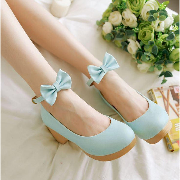 Cute Bow Lolita Shoe-shoe-UAE Cute Stuff