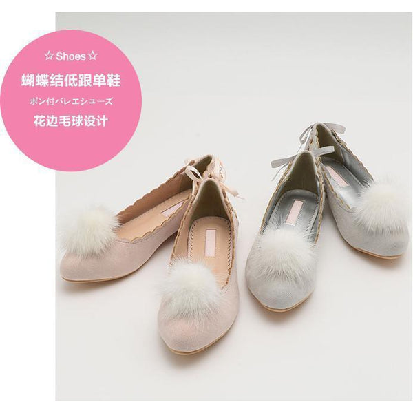 Cute Bunny Flat Shoe-shoe-UAE Cute Stuff