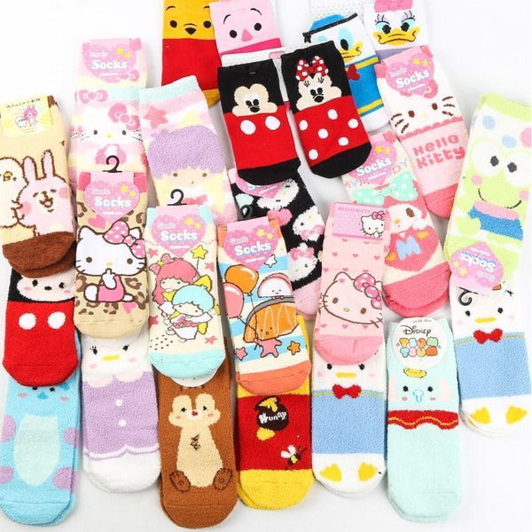 ♥Cute Characters Sock♥-sock-UAE Cute Stuff
