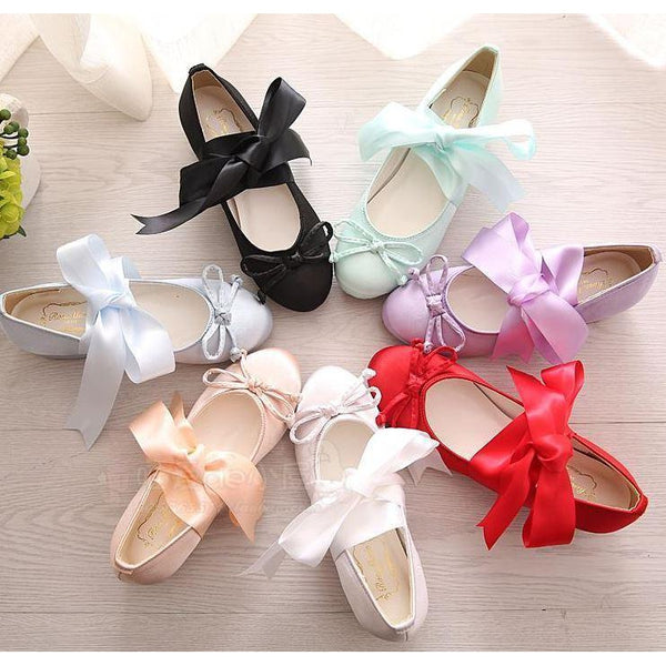 Cute Ribbon Flat Shoe-shoe-UAE Cute Stuff
