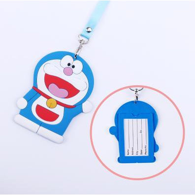 Doraemon Kawaii ID Lanyard-lanyard-UAE Cute Stuff