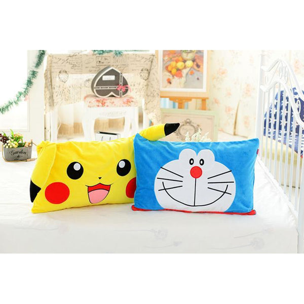 Doraemon/ Pokemon Pillowcase-Pillow Case-UAE Cute Stuff