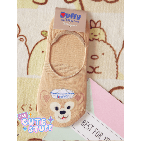 Duffy the Bear Short Sock-sock-UAE Cute Stuff