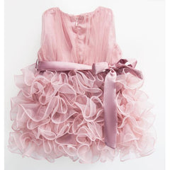 Elegant Ruffle Girl Dress for Birthday, Pageant, Party/ Flower Dress-kid clothing-UAE Cute Stuff