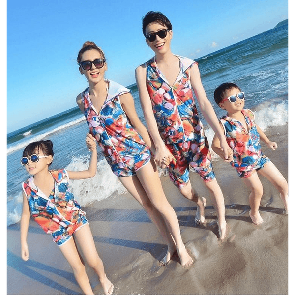 Family Swimwear+ Beachwear Set-kid clothing-UAE Cute Stuff
