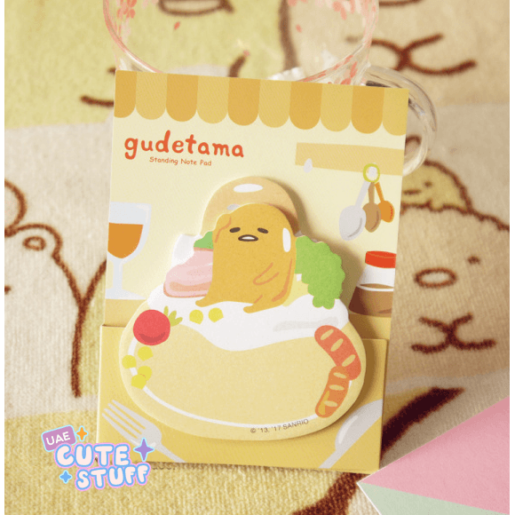 Gudetama Kawaii Sticky Note?-sticky note-UAE Cute Stuff