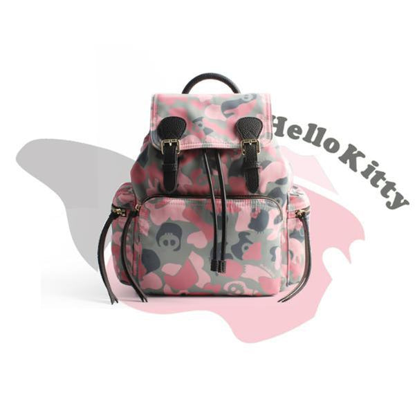 Hello Kitty Backpack~Military Kitty-bag-UAE Cute Stuff