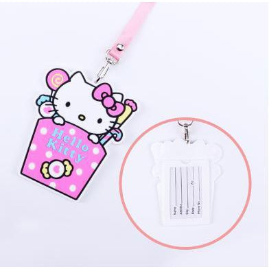 Hello Kitty Kawaii ID Lanyard-lanyard-UAE Cute Stuff
