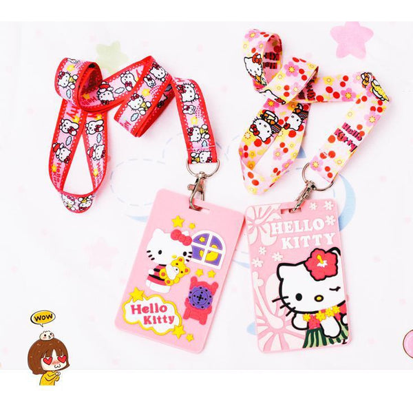 Hello Kitty Lanyard-lanyard-UAE Cute Stuff