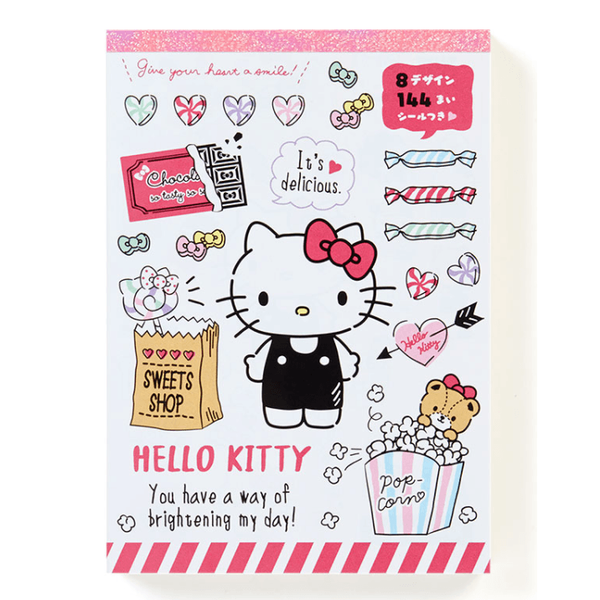 Hello Kitty Notepad with 8 designs paper inside.-notepad-UAE Cute Stuff
