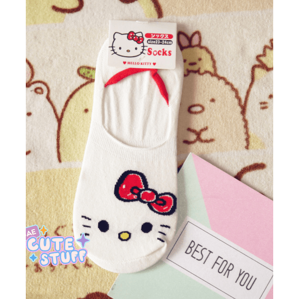 Hello Kitty Short Sock-sock-UAE Cute Stuff