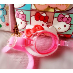 Hello Kitty Swim Goggles-kid clothing-UAE Cute Stuff