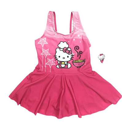 Hello Kitty Swim Suit~Kitty One Piece-kid clothing-UAE Cute Stuff