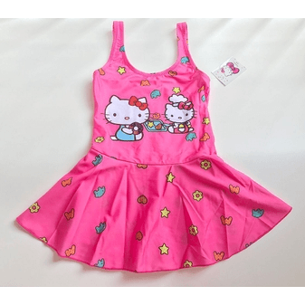 Hello Kitty Swim Suit~One Piece-kid clothing-UAE Cute Stuff